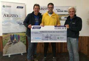 Aristo Pharma dona más de 15.000 euros a Farmacéuticos sin Fronteras