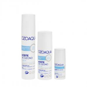 Gama de aceite ozonizado de Ozoaqua
