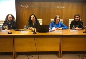 Farmacéuticos de Pontevedra se forman para luchar contra la violencia de género