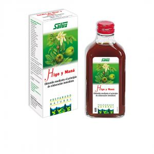 Jarabe natural de higo y maná, de Salus, para la salud intestinal