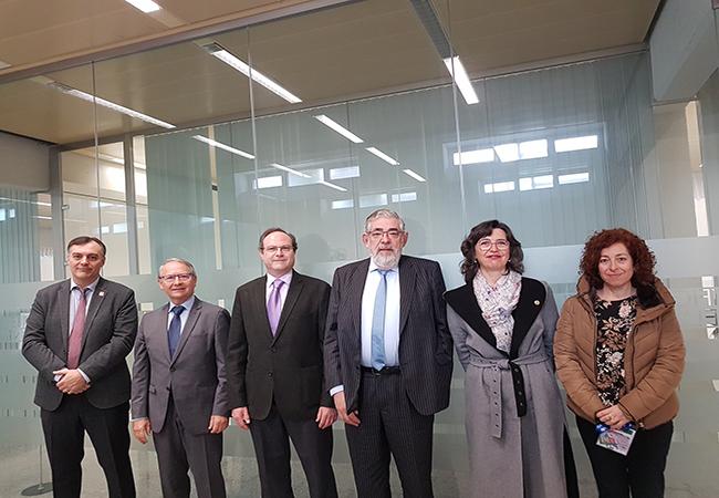 Vicente J. Baixauli, Vicente Lozano, Jesús C. Gómez, Vicente Navarro de Luján, Alicia López y Lucrecia Moreno