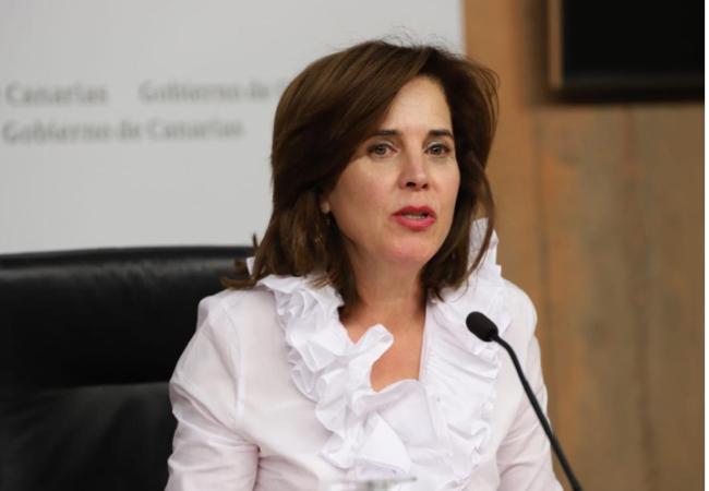 Teresa Cruz, consejera de Sanidad de las Islas Canarias