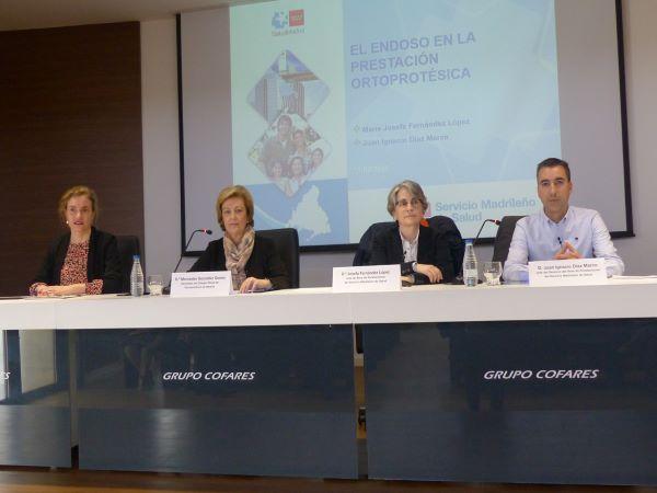 Nieves Mijimolle,  Mercedes González, María Josefa Fernández y Juan Ignacio Díaz
