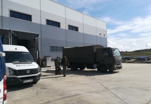 La Fundación Cofares dona 6.000 geles de baño a las Fuerzas Armadas en la lucha contra el Covid-19