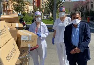 El Dr. Gabriel Serrano, dermatólogo y fundador de Sesderma, se vuelca en la lucha contra el coronavirus