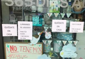 El COFM lanza un SOS ante la falta de material sanitario de seguridad