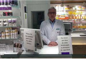 Comunicado en relación con la disponibilidad de material de protección para farmacéuticos ante el Covid-19