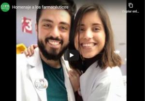 El COFM rinde homenaje al trabajo de los farmacéuticos durante la crisis sanitaria