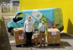 Hefame dona más de 20.000 productos de su marca Interapothek a los hospitales más cercanos a sus centros de trabajo