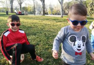 Gafas de sol para la sensibilidad a la luz de los más pequeños