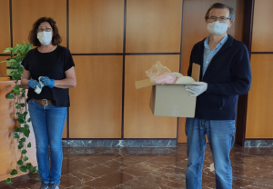 Medilast destina parte de sus recursos a fabricar mascarillas y dona material a entidades locales para su fabricación doméstica