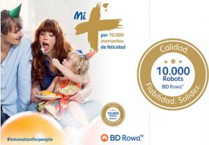 BD Rowa™ celebra 10.000 sistemas