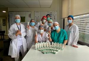 Jowaé España dona 5.200 cremas nutritivas de manos a hospitales y residencias