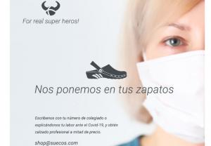 Suecos® entrega cientos de zuecos durante la pandemia del Covid-19 como agradecimiento a los profesionales sanitarios