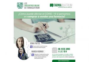 ¿Cómo puede afectar el COVID 19 si pensamos en comprar o vender una farmacia?