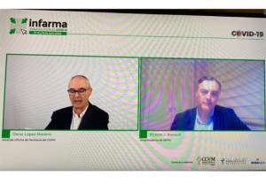 Más de 1.100 profesionales conectados en el primer día de las 'Jornadas Digitales Infarma COVID-19'