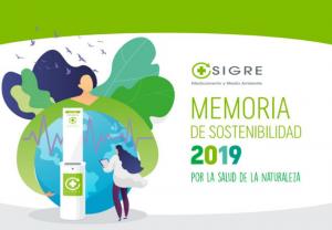 SIGRE publica su Memoria de Sostenibilidad 2019
