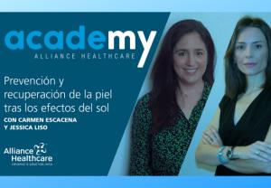 Alliance Healthcare y Alphega farmacia, ofrecen un nuevo Webinar, dedicado al cuidado de la piel en el post - confinamiento