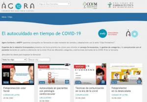 Ágora Sanitaria y anefp ponen en marcha un catálogo de vídeos formativos sobre autocuidado en tiempo de COVID-19