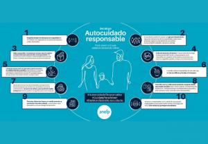 Anefp ofrece diez pautas de autocuidado responsable para evitar contagios