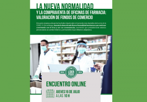 """""""La nueva normalidad y la compraventa de oficinas de farmacias"""", nuevo tema de los encuentros online de farmaquatrium"""