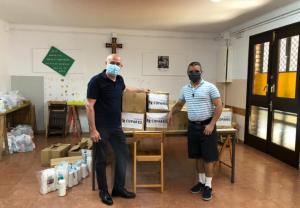 Fundación Cofares colabora con Cáritas Diocesana de Barcelona en la donación de productos de higiene y alimentación infantil