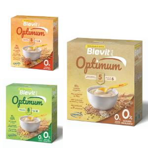 Laboratorios Ordesa lanza la nueva gama Blevit® plus Optimum con 0% azúcares añadidos y 0% azúcares producidos