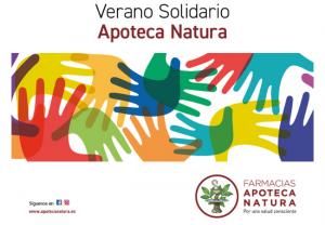 Verano solidario de Apoteca Natura: con Cáritas, al lado de quienes más lo necesitan