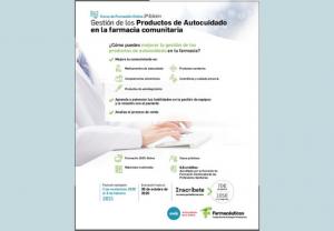 """El 2 de noviembre comienza la III edición del curso online """"Gestión de los productos de autocuidado en la farmacia comunitaria"""""""