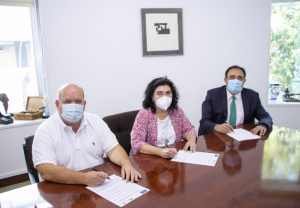 DFG y Novaltia firman un convenio de colaboración con Afare, la empresarial vasca