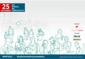 La campaña 'El farmacéutico que necesitas AHORA' reivindica el valor clínico y asistencial de estos profesionales con motivo de su Día Mundial