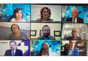 La Farmacia española comparte su experiencia en la gestión de la Covid-19 en el Congreso Mundial de Farmacia
