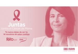 ISDIN lanza por tercer año consecutivo la campaña  Juntas contra el Cáncer de Mama