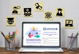 Conocer las tendencias y ofrecer consejo farmacéutico, claves para crear contenidos de interés en el blog de la farmacia