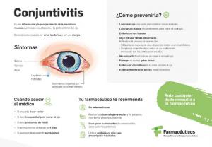Los farmacéuticos lanzan una serie de consejos para prevenir la conjuntivitis otoñal
