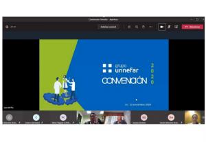 """El Grupo Unnefar celebra su convención anual """"Connectados al cubo"""""""