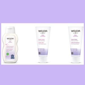 Protege la piel atópica de tu bebé de la forma más natural con Malva Blanca de Weleda