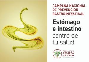 Cuidar y mantener el bienestar gastrointestinal: objetivo de la campaña de prevención de la red Apoteca Natura