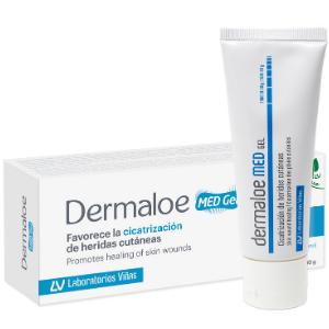 Dermaloe MED Gel ayuda a una rápida y limpia cicatrización en caso de quemaduras