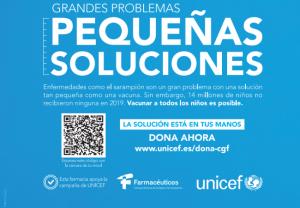 Farmacéuticos se une a UNICEF para sumar fuerzas y conseguir la vacunación de 14 millones de niños en el mundo
