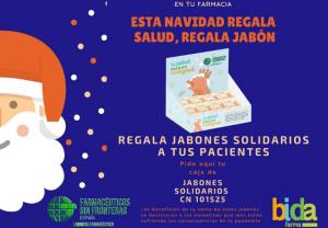 Campaña para que el Jabón FSFE sea el regalo de referencia de la farmacia estas navidades