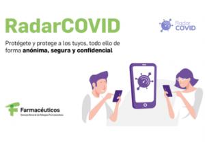La red de 22.102 farmacias promueven la descarga de RadarCOVID para mejorar las labores de rastreo