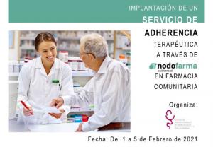 El COFCAM impartirá en febrero la formación para implantar el Servicio de Adherencia Terapéutica en las farmacias