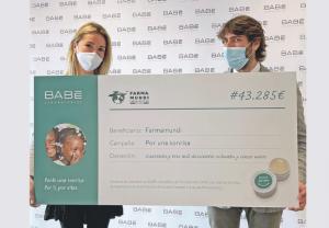 Las farmacias apoyan el proyecto solidario de Laboratorios BABÉ y Farmamundi