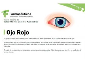 Los farmacéuticos lanzan una serie de consejos para la prevención y el cuidado del ojo rojo y la blefaritis