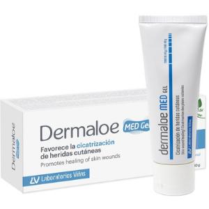 Dermaloe MED Gel protege, hidrata y favorece la cicatrización de la piel dañada