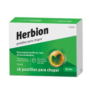 Herbion de Krka, único medicamento en España que contiene extracto de hiedra en formato pastillas para chupar