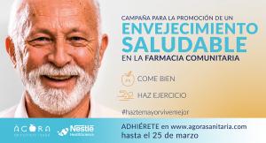 El COF de Barcelona y Madrid y Nestlé Health Science impulsan una campaña para un envejecimiento saludable