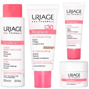 Rutina simple de día para pieles con rosácea con la gama Roséliane de Uriage