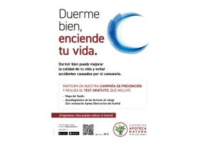 """""""Duerme bien, enciende tu vida"""": un servicio de prevención gratuito Apoteca Natura para mejorar la calidad del descanso"""